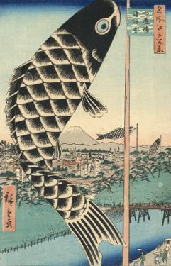 Suido Bridge and Suruga Hill by Ando Hiroshige