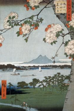 Suigin Grove and Masaki by Ando Hiroshige