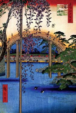 Tenjin Shrine by Ando Hiroshige