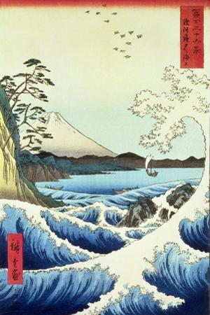 View from Satta Suruga Province by Ando Hiroshige