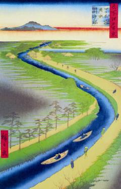 View of Mount Fuji by Ando Hiroshige