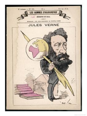 Jules Verne French Science Fiction Writer by Andr? Gill
