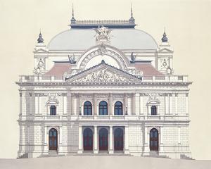 Janacek Opera House Brno by Andras Kaldor