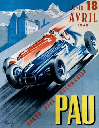 Grand Prix Automobile de Pau, 1949 by Andre Bermond