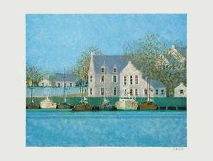 Le Port Du Guildo II by André Bourrié