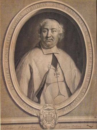Eustache Teissier, Engraved by Gérard Edelinck (1640-1707), 1690