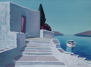 Paysage De Grèce by André Bricka