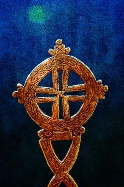 Gold Ethiopian Cross by André Burian