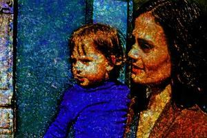 Mother and Daughter by André Burian