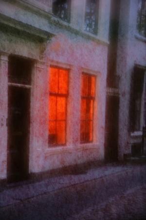 Orange Window by André Burian