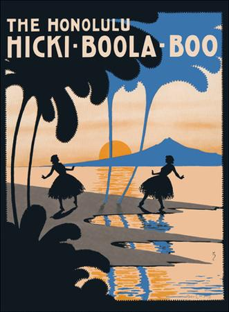 The Honolulu Hicki-Boola-Boo - Popular Hawaiian Song - Music by Albert Von Tilzer by Andre C. De Takacs
