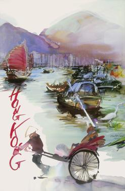 Hong Kong - China - SAS Scandinavian Airlines System by André Crab