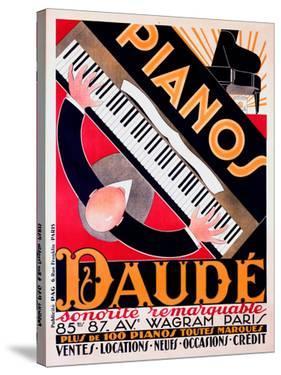 Pianos Daude by Andre Daude