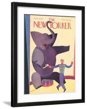 The New Yorker Cover - April 23, 1927 by Andre De Schaub
