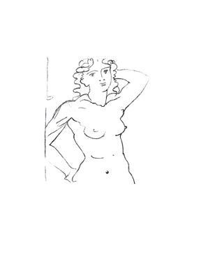 Buste de Femme by Andre Derain
