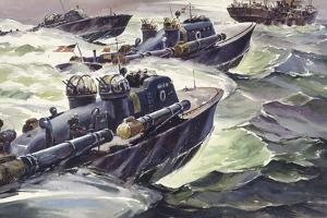 "World War Ii's Fast ""Mosquito Boats"" Launched Torpedos at Close Range by Andre Durenceau"