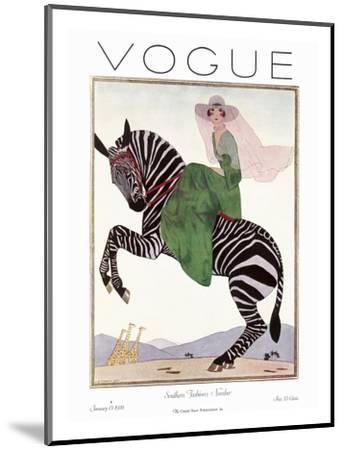 Vogue Cover - January 1926