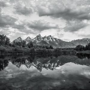 Scenic Landscape II BW by Andre Eichman