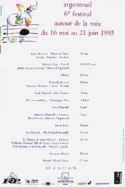 Festival D'Argenteuil by André François