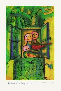 Fosses La Ville À La Campagne by André François