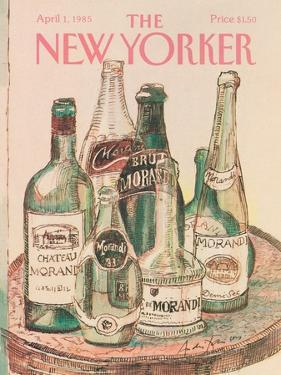 The New Yorker Cover - April 1, 1985 by Andre Francois