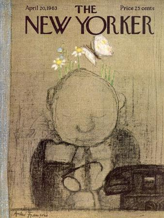 The New Yorker Cover - April 20, 1963