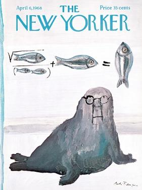 The New Yorker Cover - April 6, 1968 by Andre Francois