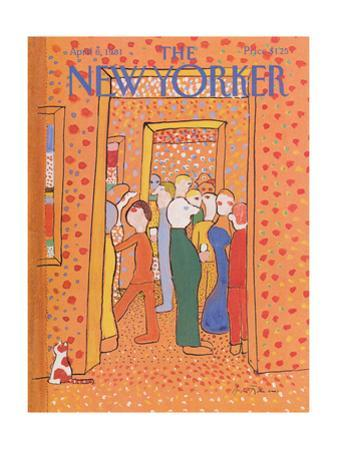 The New Yorker Cover - April 6, 1981 by Andre Francois
