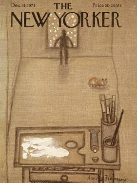 The New Yorker Cover - December 11, 1971 by Andre Francois