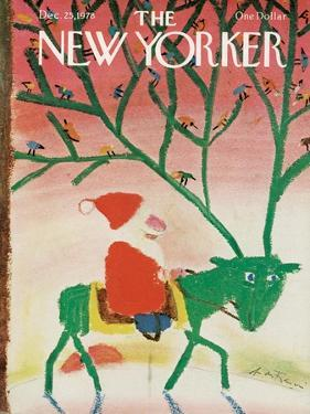 The New Yorker Cover - December 25, 1978 by Andre Francois