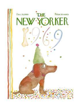 The New Yorker Cover - December 28, 1968 by Andre Francois