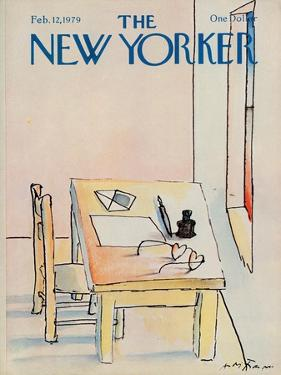 The New Yorker Cover - February 12, 1979 by Andre Francois