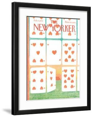 The New Yorker Cover - February 13, 1971 by Andre Francois