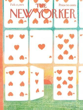 The New Yorker Cover - February 13, 1971
