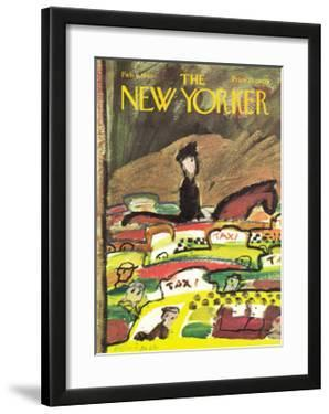 The New Yorker Cover - February 6, 1965 by Andre Francois
