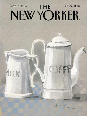 The New Yorker Cover - January 6, 1986