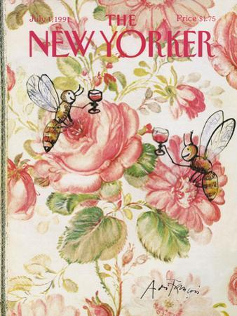 The New Yorker Cover - July 1, 1991 by Andre Francois