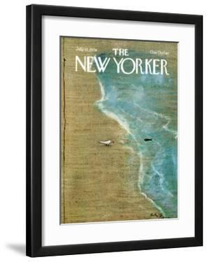 The New Yorker Cover - July 10, 1978 by Andre Francois