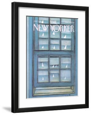 The New Yorker Cover - July 11, 1977 by Andre Francois