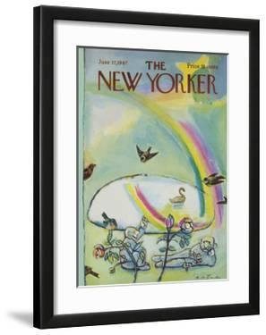 The New Yorker Cover - June 17, 1967 by Andre Francois