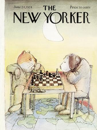 The New Yorker Cover - June 24, 1974