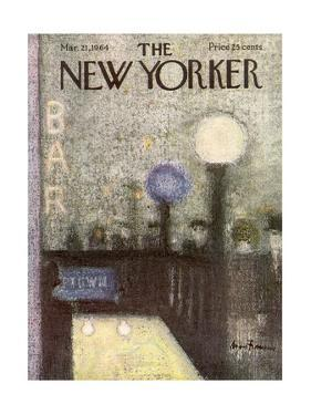 The New Yorker Cover - March 21, 1964 by Andre Francois