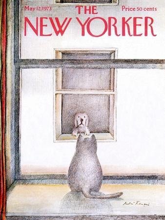 The New Yorker Cover - May 12, 1973