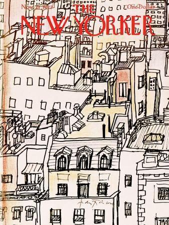 The New Yorker Cover - November 21, 1977