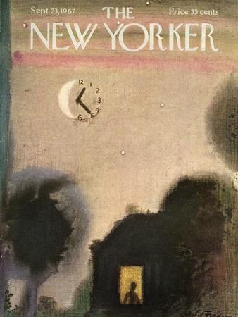 The New Yorker Cover - September 23, 1967