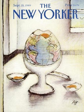 The New Yorker Cover - September 25, 1989