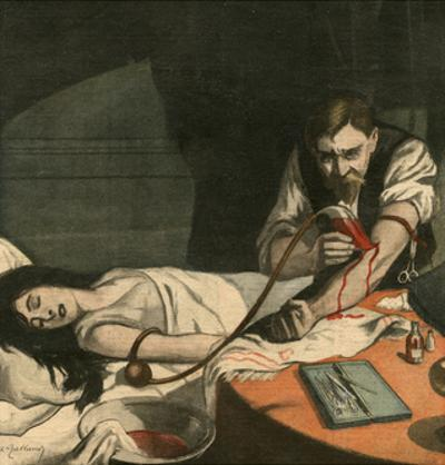 Doctor Risking Own Life by Andre Galland