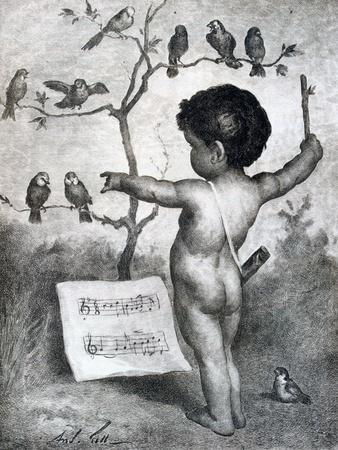 Drawing by André Gill, 1927