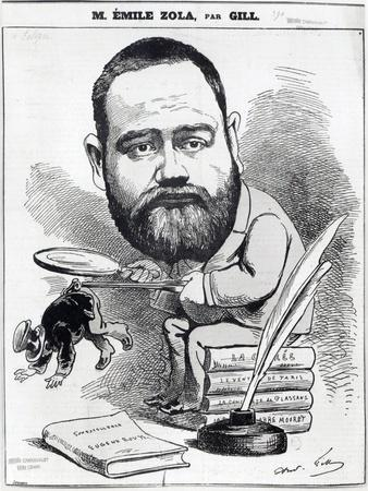 Emile Zola as a Naturalist, from 'L'Eclipse'