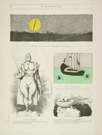 Le Salon Pour Rire, from the Gill-Revue, 1868